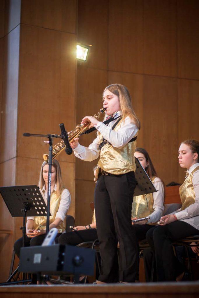 21 февраля 2016 г. при поддержке Фонда «Петр Великий» прошел Фестиваль духовых оркестров детских школ искусств г. Москвы