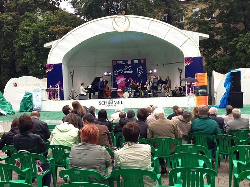 XVI Московский международный фестиваль «Джаз в саду Эрмитаж»