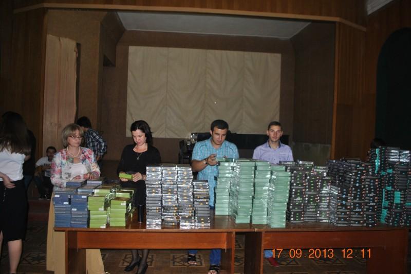 Проект «Музыка без границ». Фонд «Петр Великий» подарил музыкальным школам и училищам Абхазии уникальные коллекции дисков