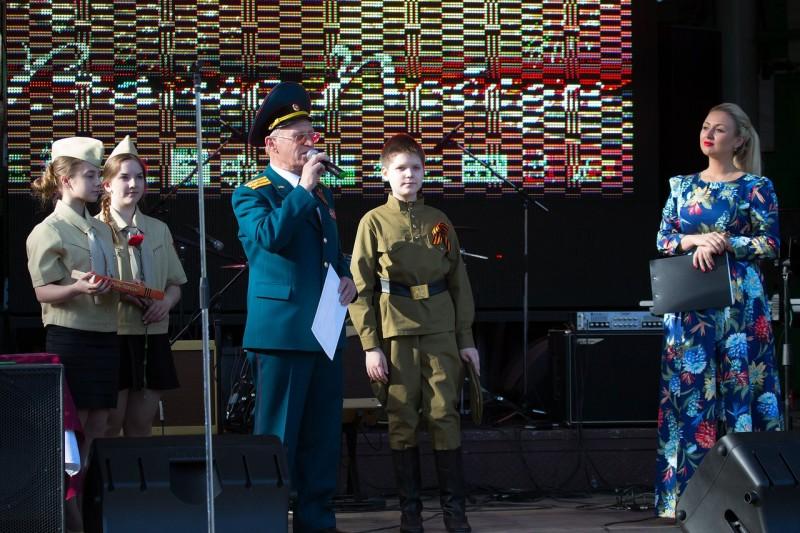 При поддержке фонда «Петр Великий» прозвучал «Вальс Победы»